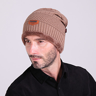 647fdaed9 رخيصةأون ملابس المشي-رجالي نسائي الدفء الرياضات الشتوية صوف قبعة ملابس  التزلج