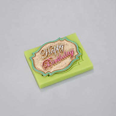 실리콘 퐁당 케이크 장식 도구의 수제 비누 금형 초콜릿 금형 음식 학년 ramdon 색상