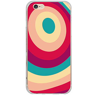 Mert iPhone 6 tok / iPhone 6 Plus tok Minta Case Hátlap Case Rajzfilmfigura Kemény PC AppleiPhone 6s Plus/6 Plus / iPhone 6s/6 / iPhone