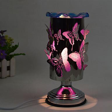 1db dugva a villamos érintésérzékeny pillangó illóolajok illat lámpa ajándék