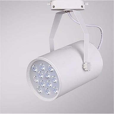 12w 1200lm 3000K / 4000K / 6000K 주도 레일 트랙 천장 스포트 라이트 램프 (ac220-240v)