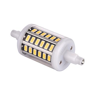 R7S 매립형 레트로핏 48 LED가 SMD 5733 장식 따뜻한 화이트 차가운 화이트 500lm 2800-3200/6000-6500K AC 85-265 AC 220-240 AC 110-130V