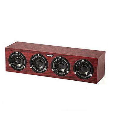 Otthoni Dokkolók Hordozható 3.5mm AUX USB Mélynyomó Fekete Sárga Piros