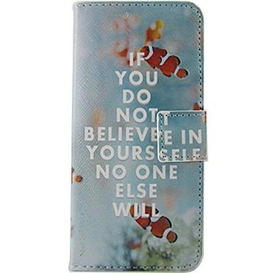 Mert Nokia tok Pénztárca / Kártyatartó / Flip / Minta Case Teljes védelem Case Szó / bölcselet Kemény Műbőr NokiaNokia Lumia 630 / Nokia