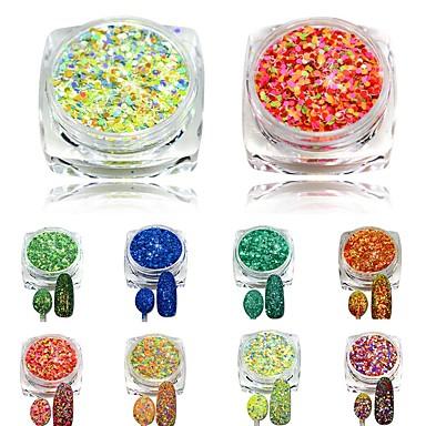 one bottles Nail Art dekoráció strasszos gyöngy smink Kozmetika Nail Art Design