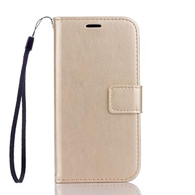 용 LG케이스 지갑 / 카드 홀더 / 스탠드 / 플립 케이스 풀 바디 케이스 단색 하드 인조 가죽 LG LG K10 / LG K7 / LG G4 / LG G3