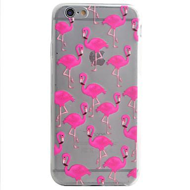 Capa traseira Estampa Animal TPU Macio Case Capa Para AppleiPhone 7 Plus / iPhone 7 / iPhone 6s Plus/6 Plus / iPhone 6s/6 / iPhone