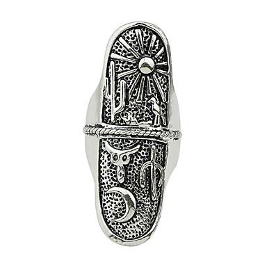Gyűrűk Divat Parti / Napi Ékszerek Ötvözet Női Vallomás gyűrűk 1db,7 Ezüst
