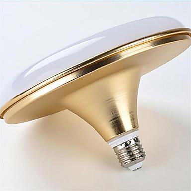 HRY 18W 1500-1600 lm E26/E27 LED 글로브 전구 BR 60 LED가 SMD 5730 방수 장식 차가운 화이트 AC 220-240V
