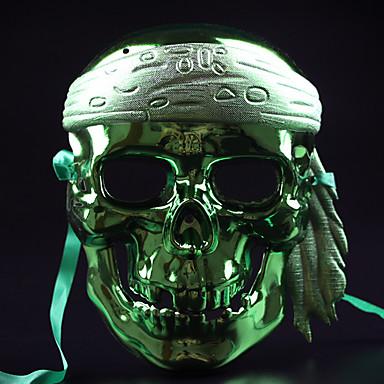 (Színes random) 1db halloween jelmez fél maszk orr-box dísztárgyak