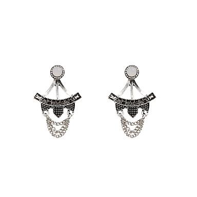 Női Függők Elöl is és hátul is stílusos fülbevalók Divat Régies (Vintage) Bohemia stílus Szikla luxus ékszer Strassz Hamis gyémánt Ötvözet