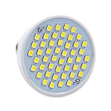 gu10 gx5.3 led spotlámpa mr16 48 smd 2835 300lm meleg fehér hideg fehér 2700-6500k dekoratív ac 220-240v
