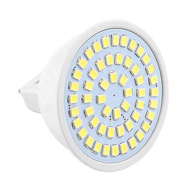 GU5.3(MR16) LED szpotlámpák MR16 54 led SMD 2835 Dekoratív Meleg fehér Hideg fehér 400-500lm 2800-3200/6000-6500K 9-30V