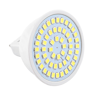 GU5.3(MR16) LED 스팟 조명 MR16 54 LED가 SMD 2835 장식 따뜻한 화이트 차가운 화이트 400-500lm 2800-3200/6000-6500K 9-30V