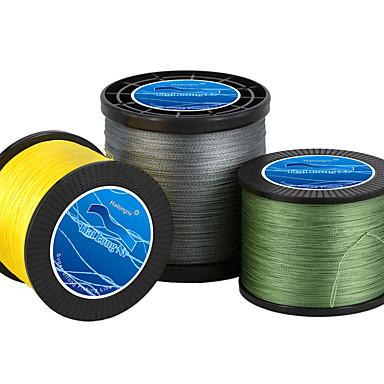 100M / 110 야드 / 300M / 330 야드 / 500M / 550 야드 PE 꼰 선 / Dyneema 그린 / 화이트 / 옐로우 / 그레이 / 멀티 컬러 / 레드 / 블루 / 임의 색상80LB / 60LB / 50LB / 45LB /