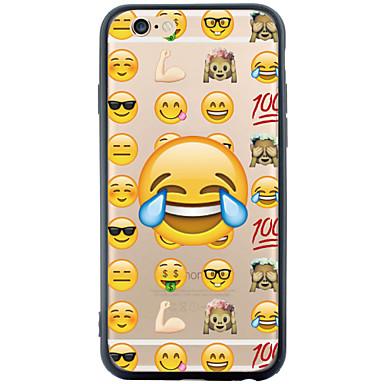Mert iPhone 6 tok / iPhone 6 Plus tok Átlátszó / Minta Case Hátlap Case Rajzfilmfigura Puha TPU AppleiPhone 6s Plus/6 Plus / iPhone 6s/6