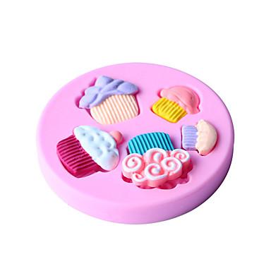 Bakeware eszközök Szilikon Környezetbarát / Nem tapad / Sütés eszköz Kenyér / Torta / Keksz süteményformákba