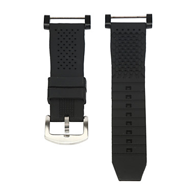 Fekete Gumi Sportszíj Mert Suunto Óra 24mm