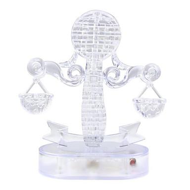 Quebra-Cabeças 3D Quebra-Cabeça Quebra-Cabeças de Cristal Diversão Cristal Plástico Clássico Dom