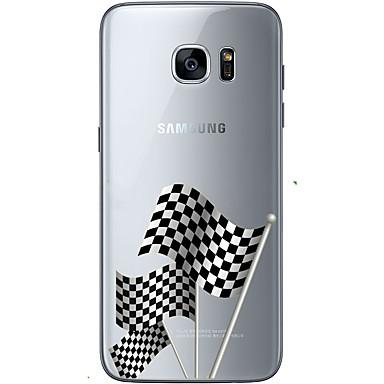 케이스 제품 Samsung Galaxy Samsung Galaxy S7 Edge 패턴 뒷면 커버 국기 소프트 TPU 용 S7 edge S7 S6 edge plus S6 edge S6