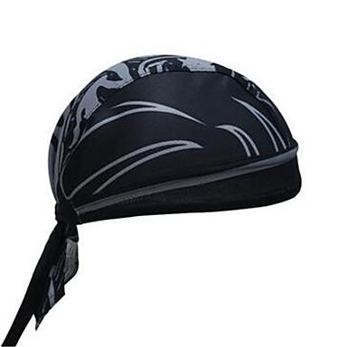 모자 반다나 자전거 통기성 빠른 드라이 방풍 자외선 방지 먼지 방지 초경량 재질 공전방지 박테리아 제한 땀 흡수 기능성 소재 편안함 선크림 남녀 공용 옐로우 레드 블랙 블루 100% 폴리에스터 엘라스틴 테릴렌 쿨맥스