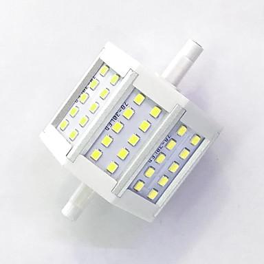 800 lm R7S Żarówki LED kukurydza T 30LED Diody lED SMD 2835 Dekoracyjna Ciepła biel Zimna biel AC 85-265V