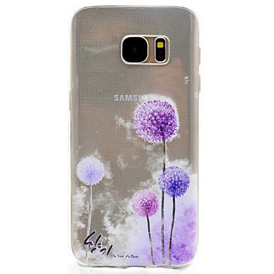 케이스 제품 Samsung Galaxy S8 Plus S8 패턴 뒷면 커버 민들레 소프트 TPU 용 S8 S8 Plus S7 edge S7 S5 Mini S5