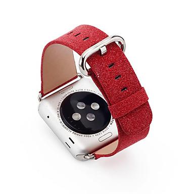 시계 밴드 Apple Watch Series 3 / 2 / 1 용 Apple 클래식 버클 가죽 손목 스트랩