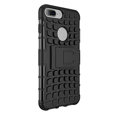 Mert iPhone 7 tok / iPhone 7 Plus tok Ütésálló / Állvánnyal Case Hátlap Case Páncél Kemény PC mert AppleiPhone 7 Plus / iPhone 7 / iPhone