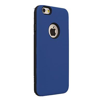 Mert iPhone 7 tok / iPhone 6 tok / iPhone 5 tok Ütésálló Case Hátlap Case Egyszínű Kemény PC AppleiPhone 7 Plus / iPhone 7 / iPhone 6s
