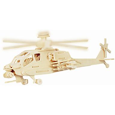 Jigsaw Puzzle Fából készült építőjátékok Építőkockák DIY játékok Négyzet / Repülőgép 1 Fa Kristály