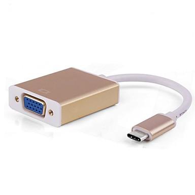 usb 3.1 típusú c-VGA átalakító kábel új MacBook Google Chromebook pixel asus zen AIO ect