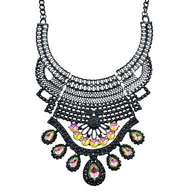여성 칼라 라인석 합금 패션 보석류 제품 파티 일상 캐쥬얼