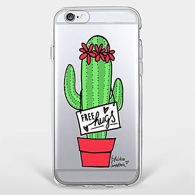 Kılıf Na Apple iPhone X iPhone 8 Plus Etui iPhone 5 iPhone 6 iPhone 7 Wzór Czarne etui Kwiaty Miękkie TPU na iPhone X iPhone 8 Plus