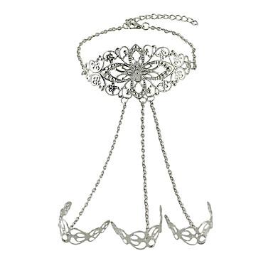 여성 반지 팔찌 패션 의상 보석 합금 보석류 보석류 제품 생일 일상 캐쥬얼