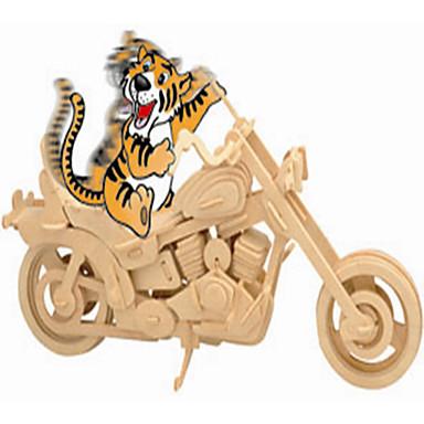 Fából készült építőjátékok Játékautók Motorbicikli Játékok Autó Motorkerékpár szakmai szint Fiú Lány 1 Darabok