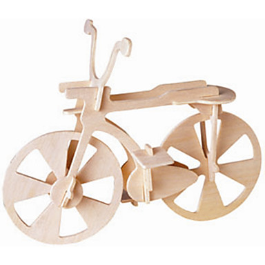 장난감 자동차 나무 퍼즐 장난감 자전거 전문가 수준 나무 남아 여아 1 조각
