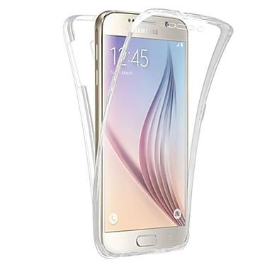 voordelige Galaxy Note 5 Hoesjes / covers-hoesje Voor Samsung Galaxy Note 5 / Note 4 / Note 3 Doorzichtig Volledig hoesje Effen Zacht TPU
