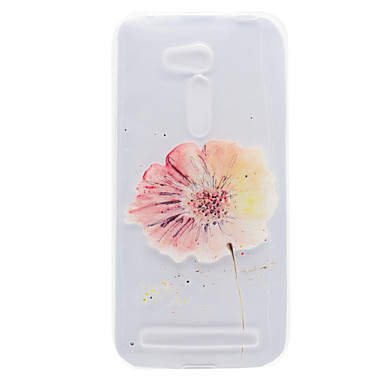 asus zb551kl zb452kg 꽃 패턴 높은 투자율 tpu 소재 전화 쉘