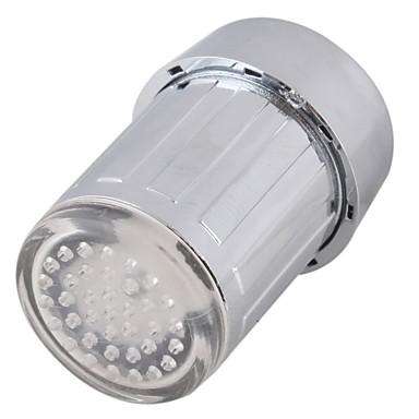 LED Wasserhahn Licht bunte ändernde Glow Duschkopf Küchenarmatur Belüfter