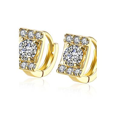 Γυναικεία Κουμπωτά Σκουλαρίκια Κοσμήματα Βασικό Επιχρυσωμένο Άλλα Κοσμήματα Γάμου Πάρτι Καθημερινά Causal Κοστούμια Κοσμήματα