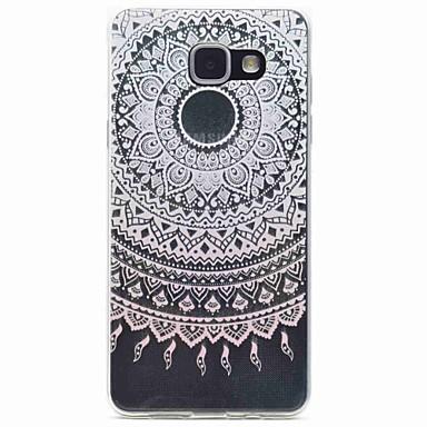 케이스 제품 Samsung Galaxy A5(2016) A3(2016) 패턴 뒷면 커버 꽃장식 소프트 TPU 용 A5(2016) A3(2016)