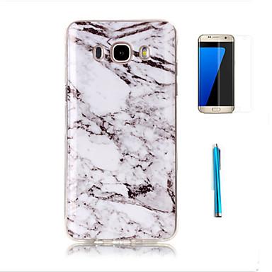 Case For Samsung Galaxy J7(2016) J3(2016) Pattern Back Cover Marble Soft TPU for J7 (2016) J7 J5 J3 (2016) Grand Prime