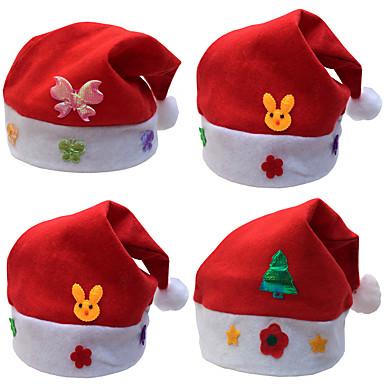 Boże Narodzenie prezenty Boże Narodzenie kapelusze dla dzieci kapelusz naklejki pkt dziecko Boże Narodzenie cartoon caps dzieciom korek