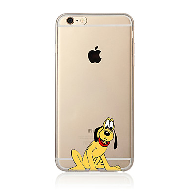 Case For Apple iPhone X iPhone 8 Plus iPhone 7 iPhone 6 iPhone 5 Case Translucent Pattern Back Cover Dog Soft TPU for iPhone X iPhone 8