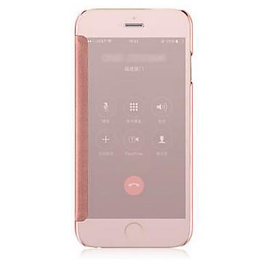케이스 제품 iPhone 5 / Apple / iPhone X iPhone X / iPhone 8 / iPhone 8 Plus 도금 / 거울 / 플립 전체 바디 케이스 솔리드 하드 메탈 용 iPhone X / iPhone 8 Plus / iPhone 8