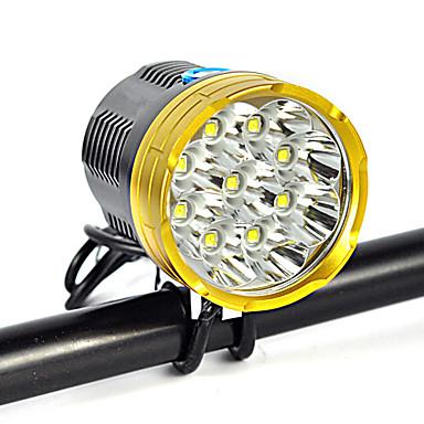 levne Čelovky-Čelovky Přední světlo LED Cree® XM-L2 Vysílače 1200 lm 1 Režim osvětlení Anglehead Vhodné do aut Ultra lehké Kempování a turistika Každodenní použití Cyklistika