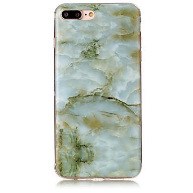 Mert IMD Case Hátlap Case Márvány Puha TPU AppleiPhone 7 Plus / iPhone 7 / iPhone 6s Plus/6 Plus / iPhone 6s/6 / iPhone SE/5s/5 / iPhone