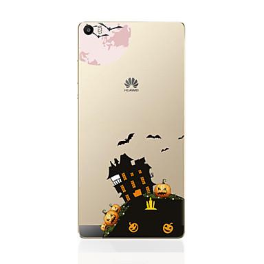 Mert Huawei tok / P9 / P9 Lite / P8 / P8 Lite Ultra-vékeny Case Hátlap Case Kilátás Puha TPU HuaweiHuawei P9 / Huawei P9 Lite / Huawei P9
