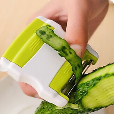 economico Utensili per frutta e verdura-Gadget da cucina a doppio frutto vegetale e pelapatate